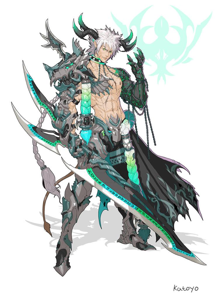 Sanghyun yu devil knight