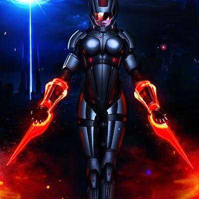 Alexander krasnov mass effect 3 femshep sentinel power