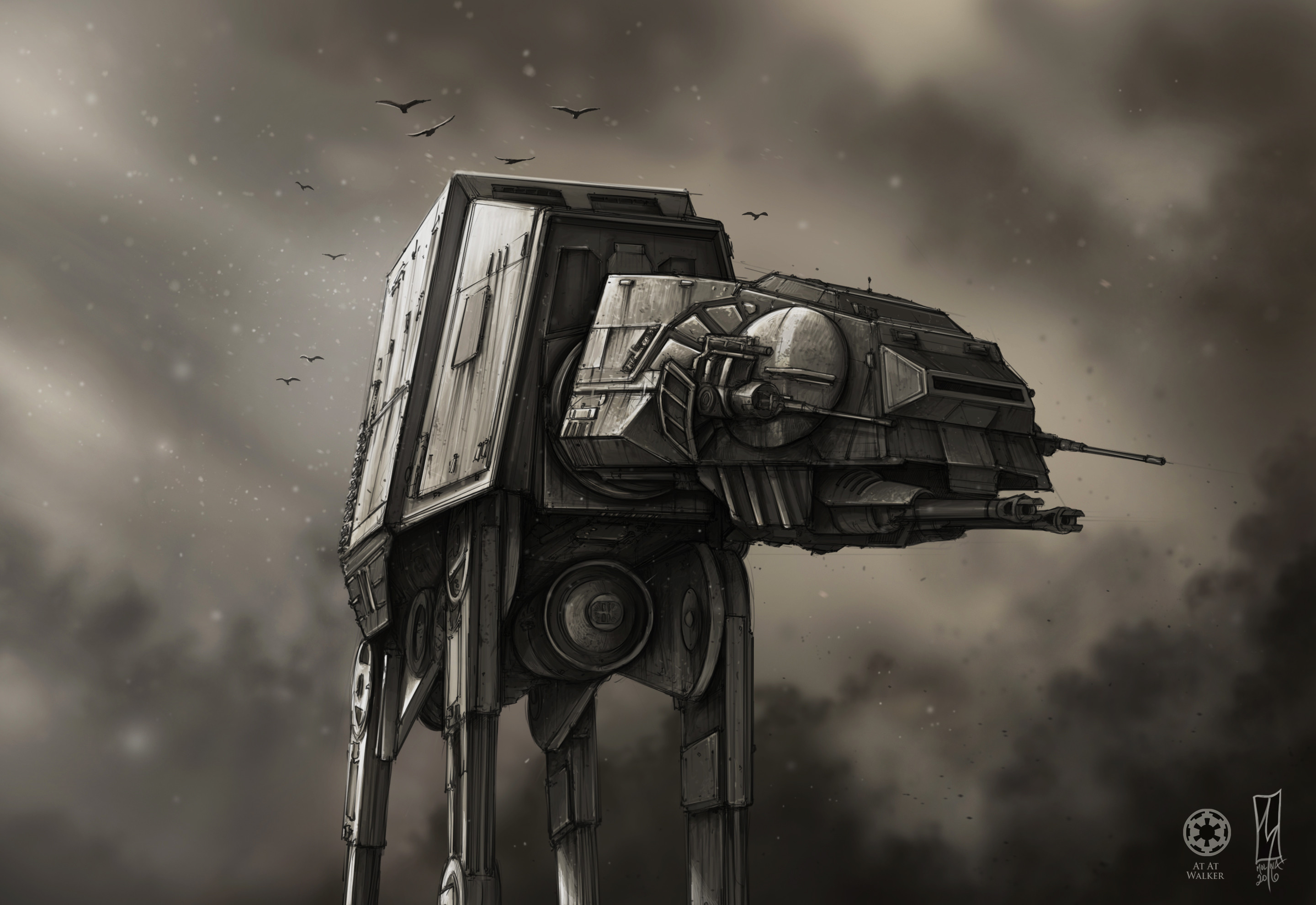 The At At Imperial Walker