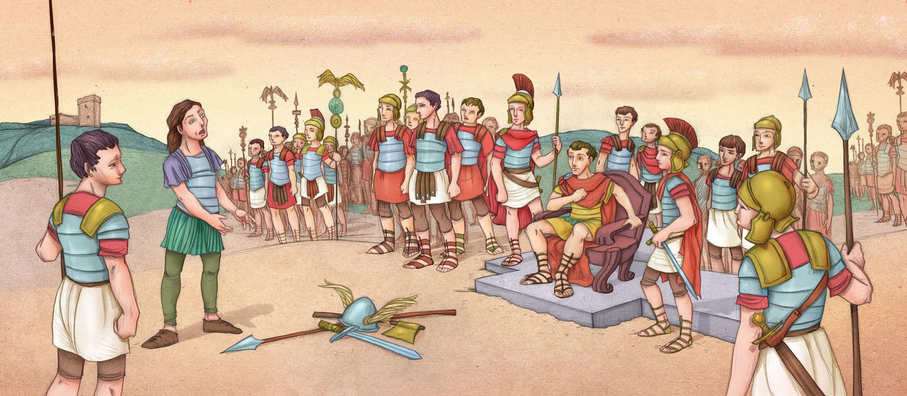 Autogiro illustration studio romans ancient history 2