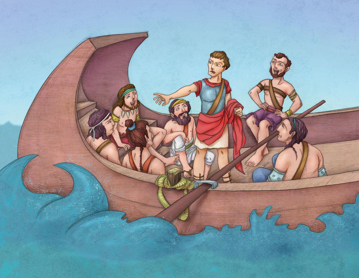 Autogiro illustration studio romans ancient history