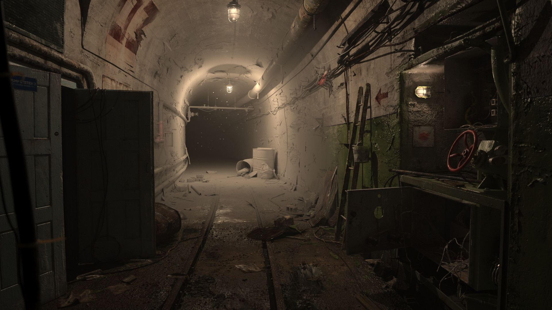ArtStation - Redshift Benchmark scene competition entry: The