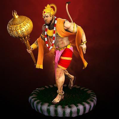 Devesh arvind nigam lord hanuman