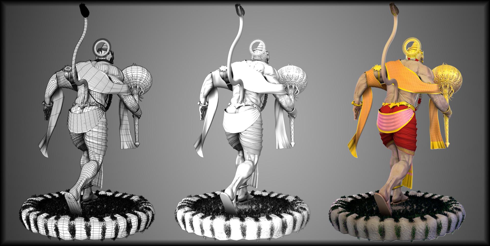 Devesh arvind nigam lord hanuman 2