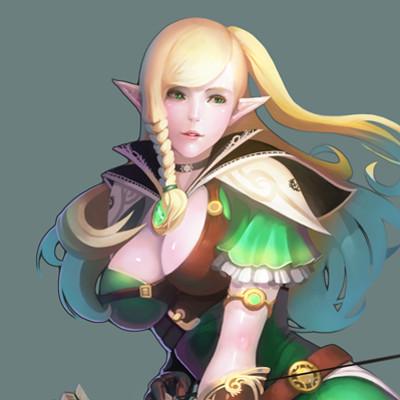 Sanghyun yu elf archer