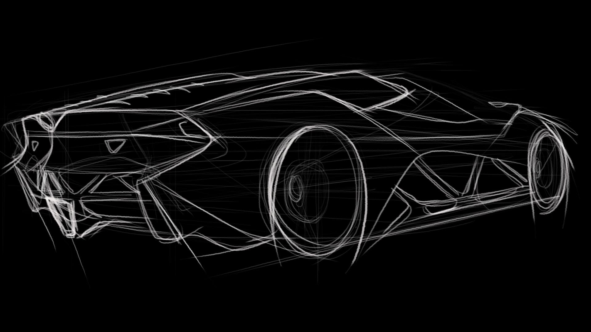 Artstation Lamborghini Concept Ashith Mohan