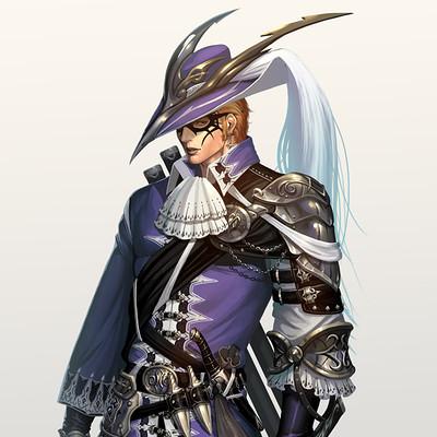 Sanghyun yu double swordsman