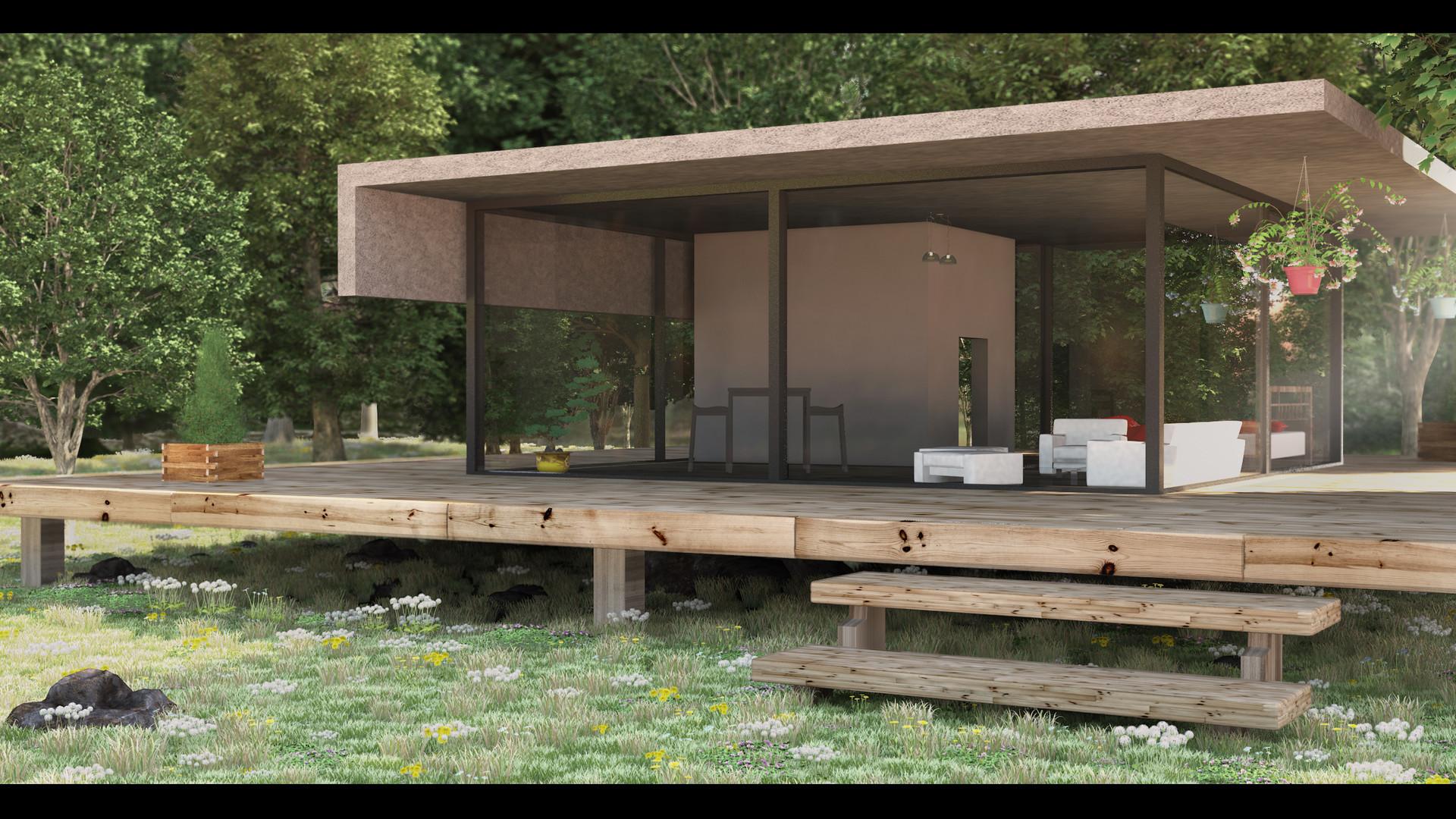 cyryl-laurent-maison-archi-exterieur Luxe De Abri Moto Exterieur Concept
