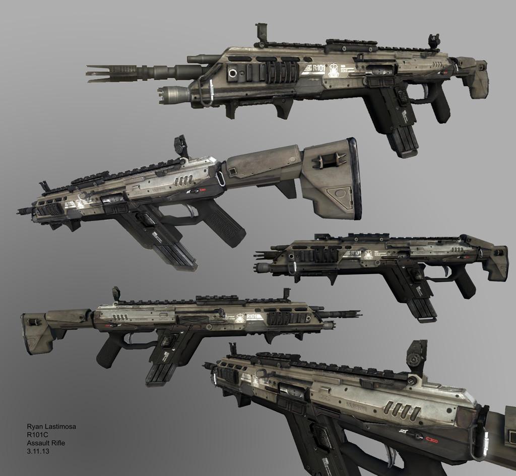 ryan lastimosa titanfall 1 r101c assault rifle
