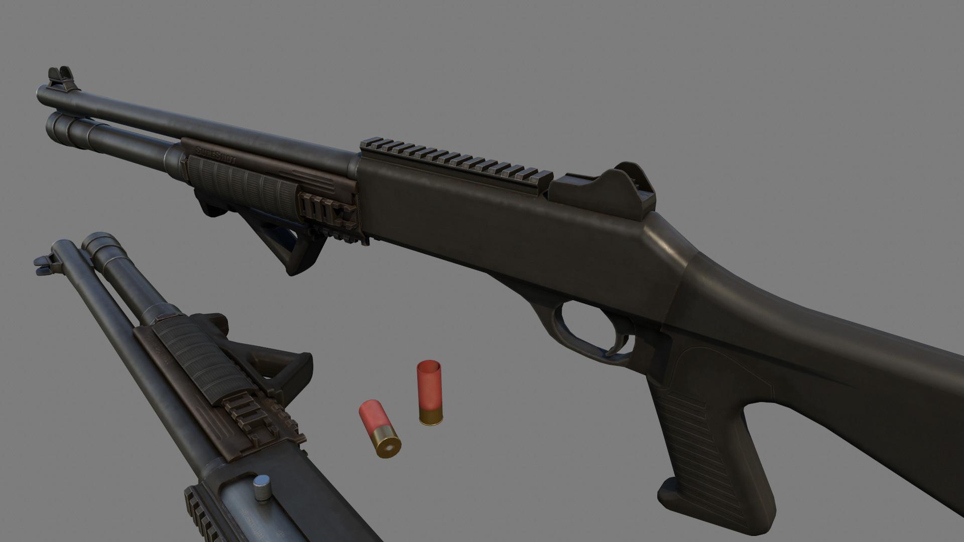 Alex voysey m1014 shotguns