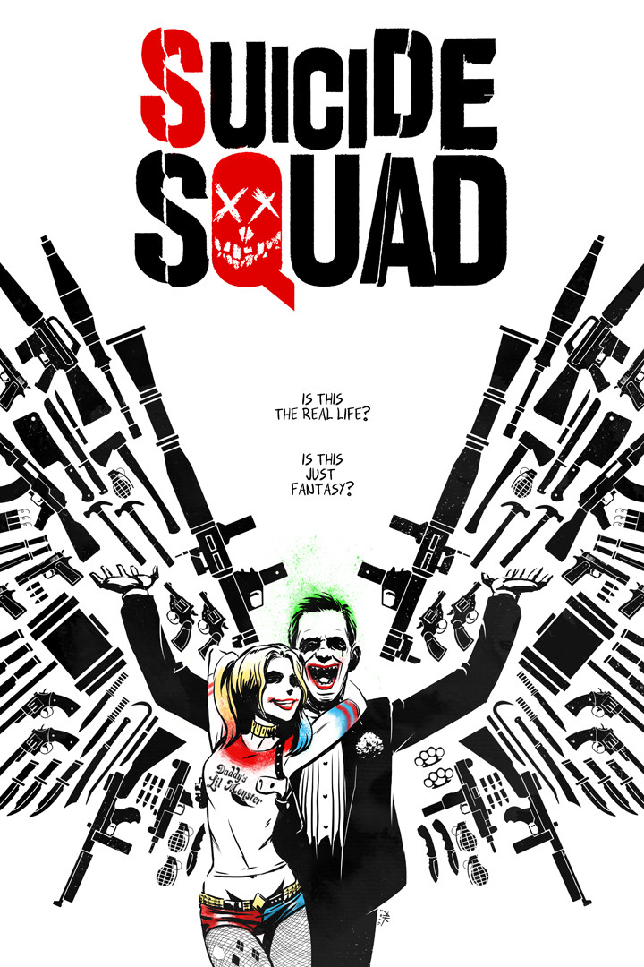 Andrew kwan suicide squad by andrewkwan d9oowol