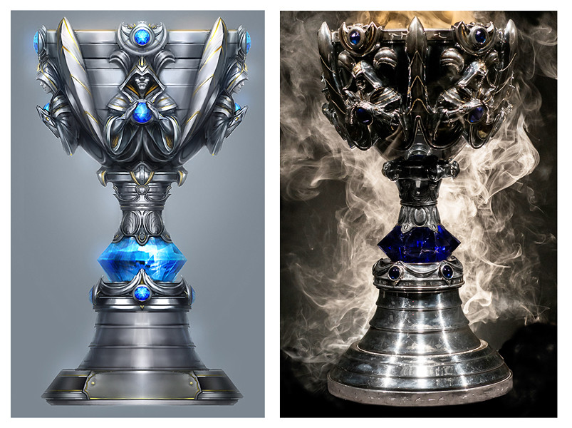 """Summoner's Cup"" World Championship Trophy Concept"