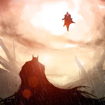 Xavier cuenca batman v superman