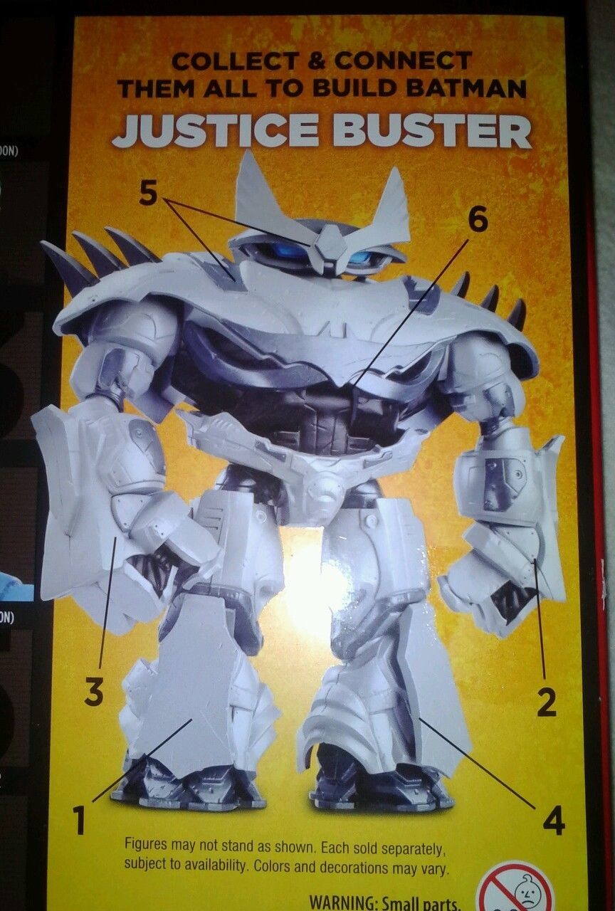 Back of Mattel Multiverse Figure box