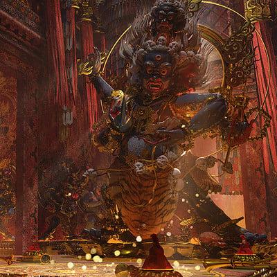 Te hu tibet temple
