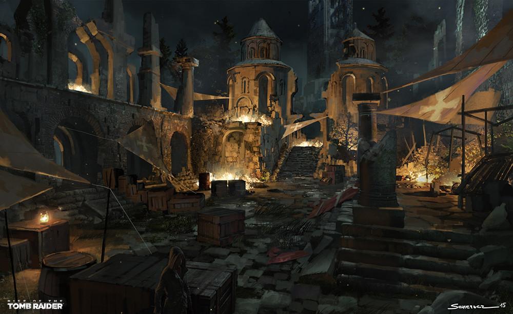 Yohann schepacz oxan studio byzantine ruins plaza