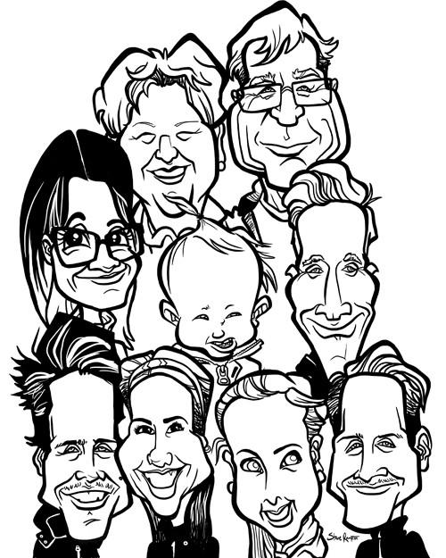 Steve rampton family