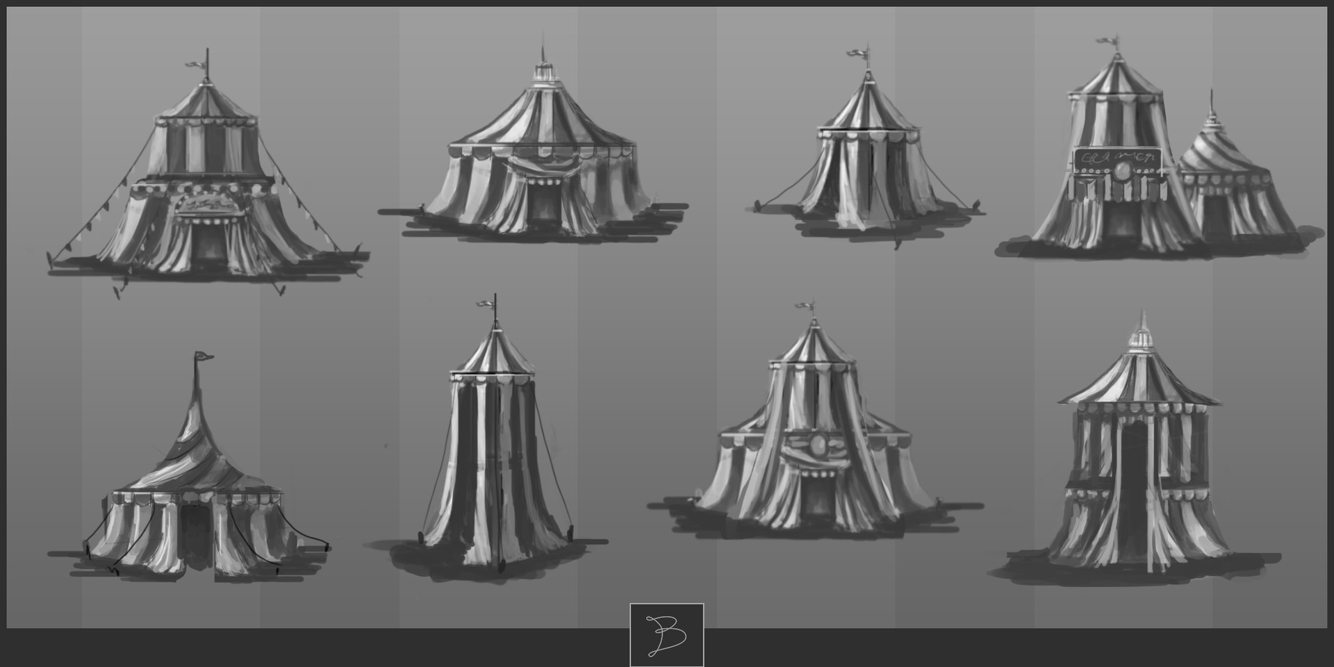 Rebecca smith circus tents