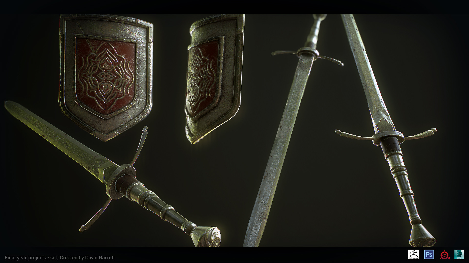 David garrett n3094311 asset sword sheild