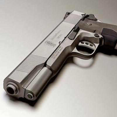 Dennis haupt large 45 acp smith and wesson gun model free 3d model 3ds fbx dxf obj blend dae unitypackage 69679b27 57ea 4129 958e dd927e72880c