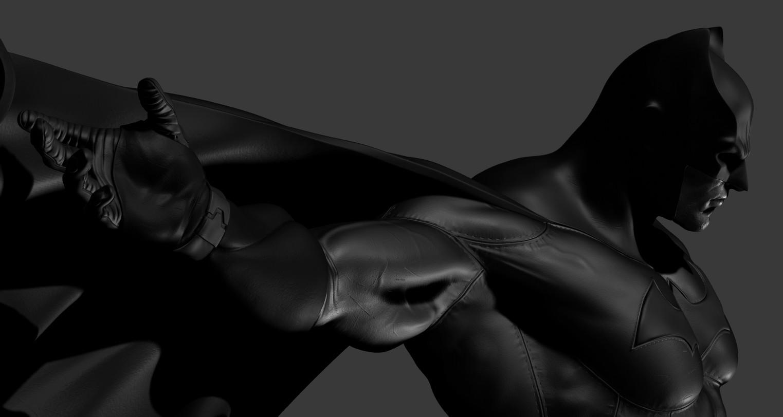 ArtStation - Batman for 3D Print, 1/4 Scale Statue, Daniel Bel