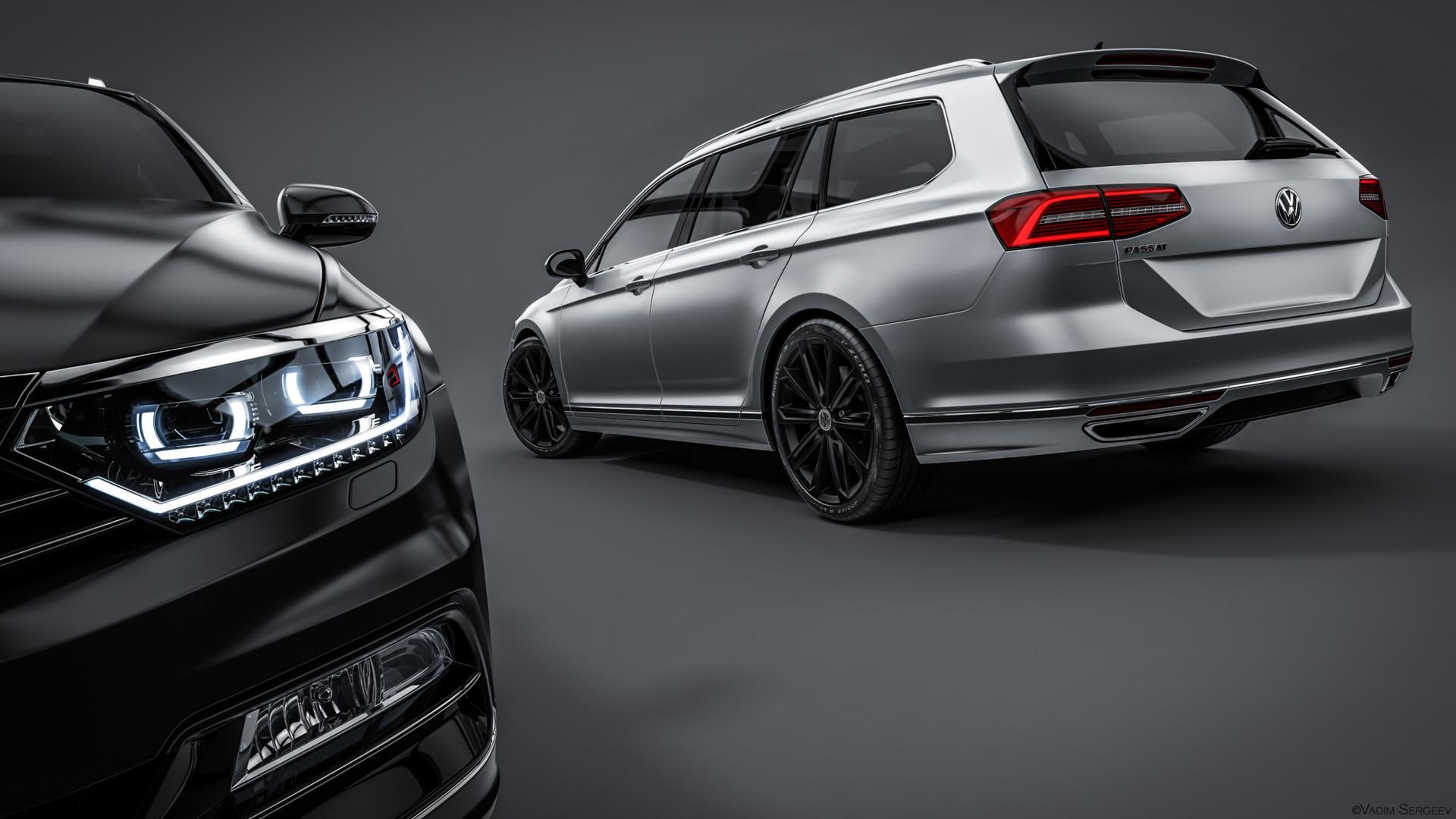 Вадим Сергеев Volkswagen Passat Variant R Line 2015