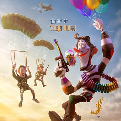 Tiago hoisel clown 1