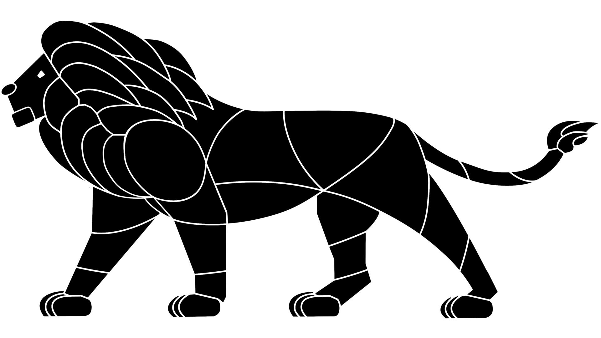 daniel staal lion logo