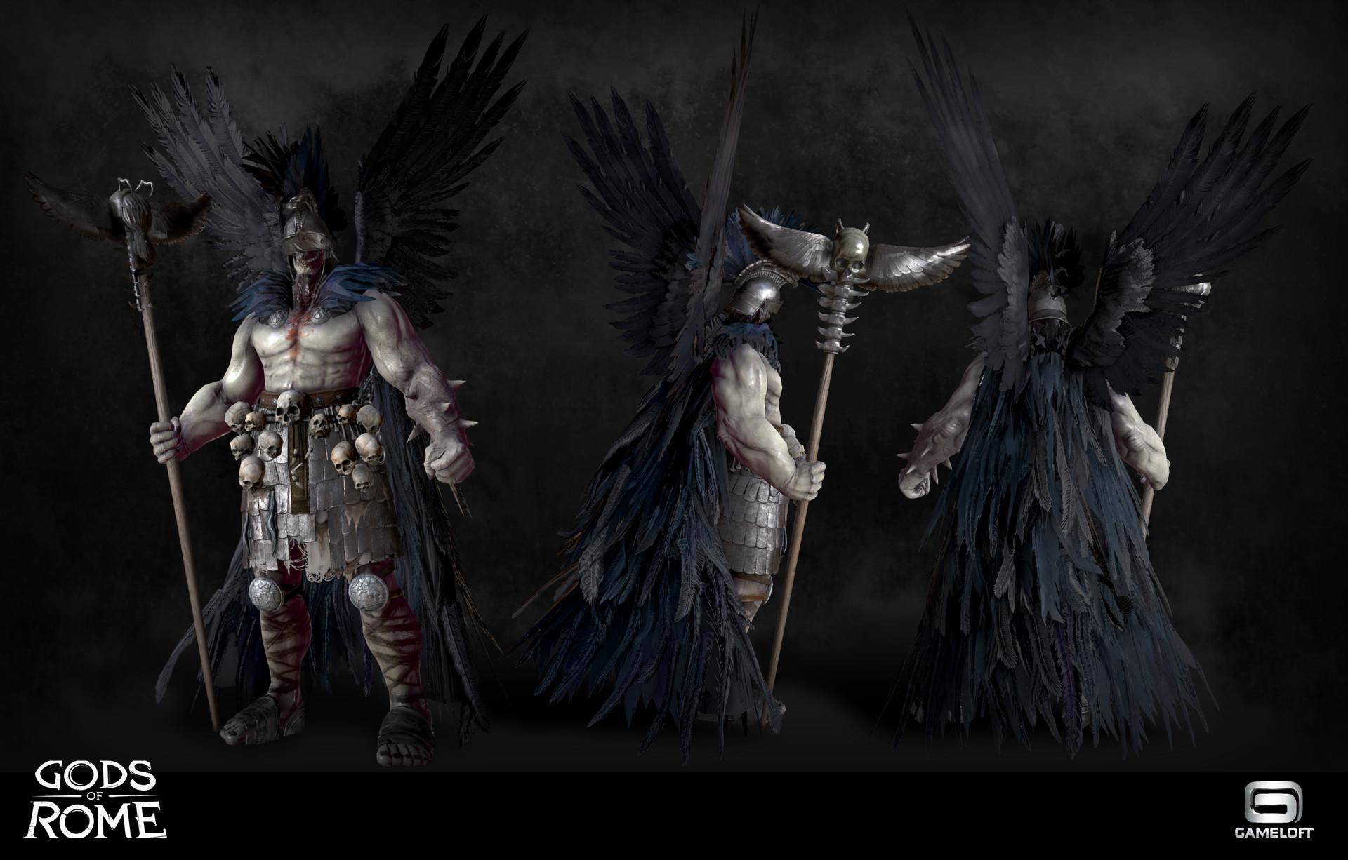 Angel Molina Hades Gods Of Rome