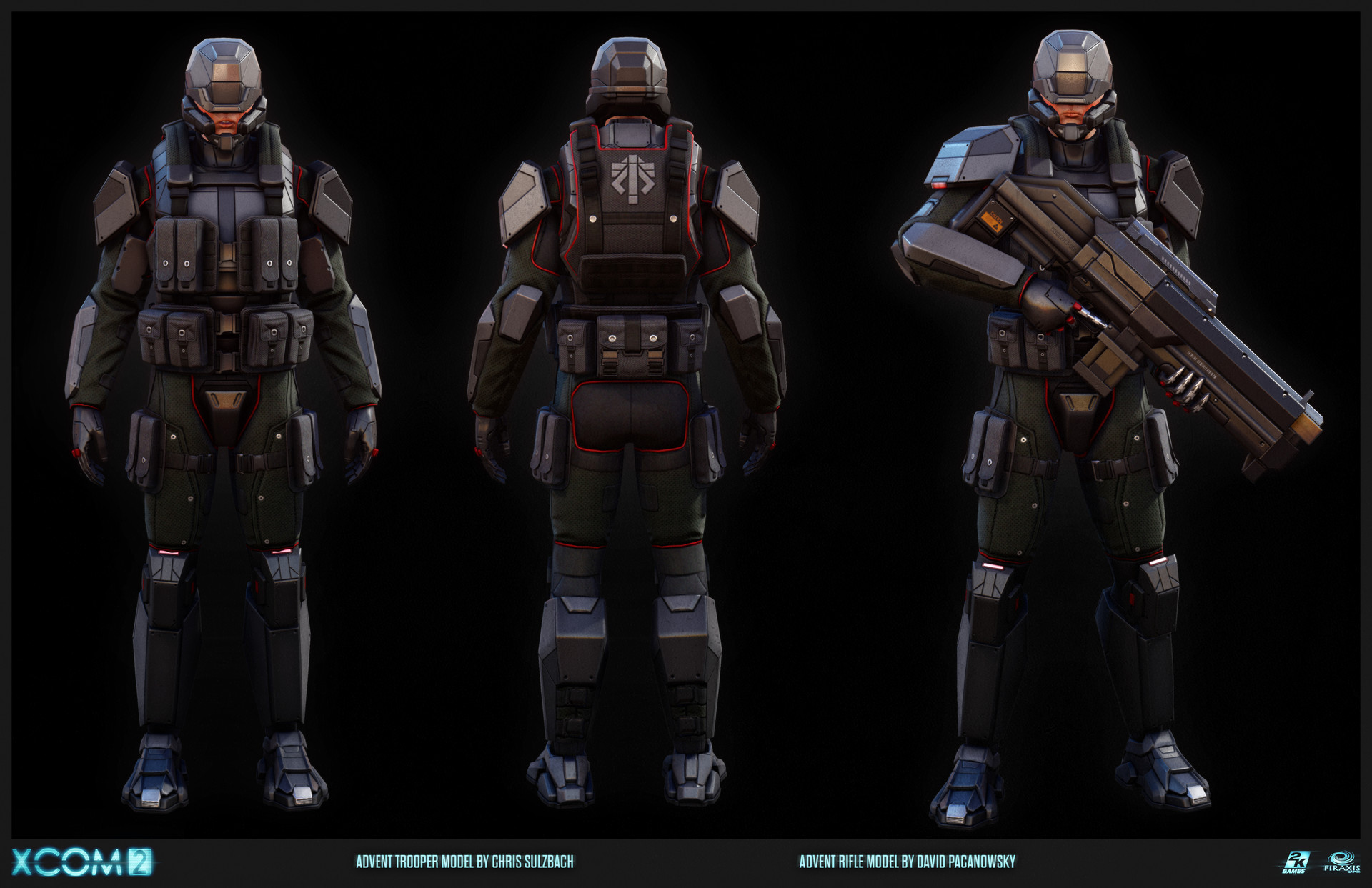 artstation xcom 2 advent trooper chris sulzbach. Black Bedroom Furniture Sets. Home Design Ideas
