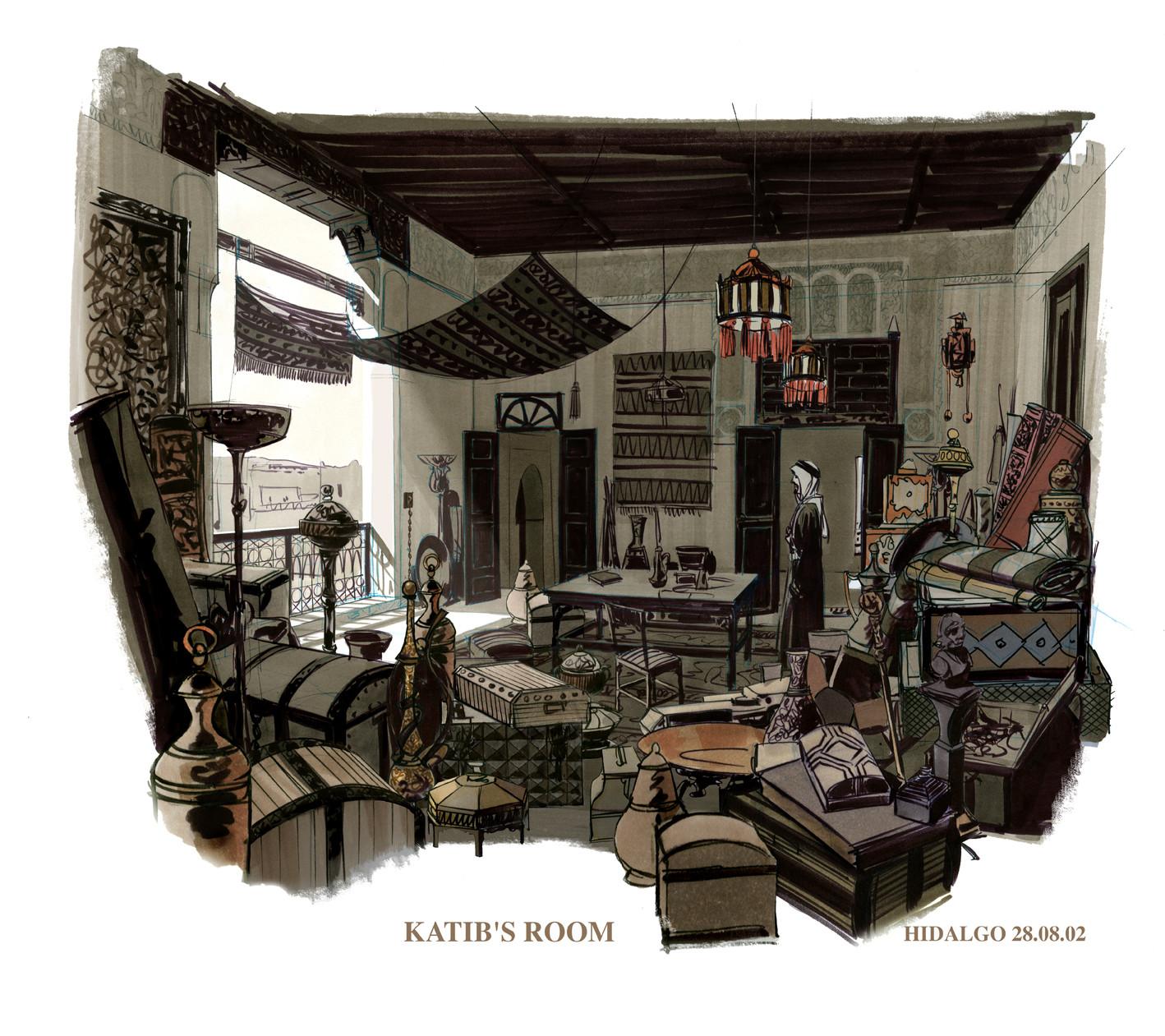 Rodolfo damaggio katib s room