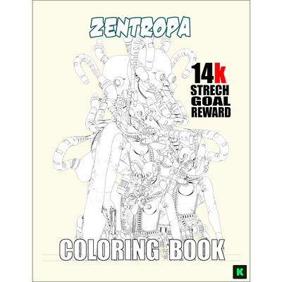 John mahoney zen coloring book fin small