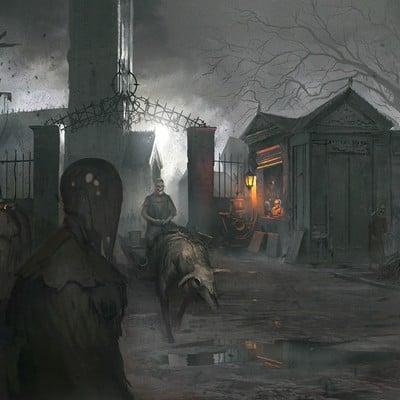 Eryk szczygiel zombie graveyard