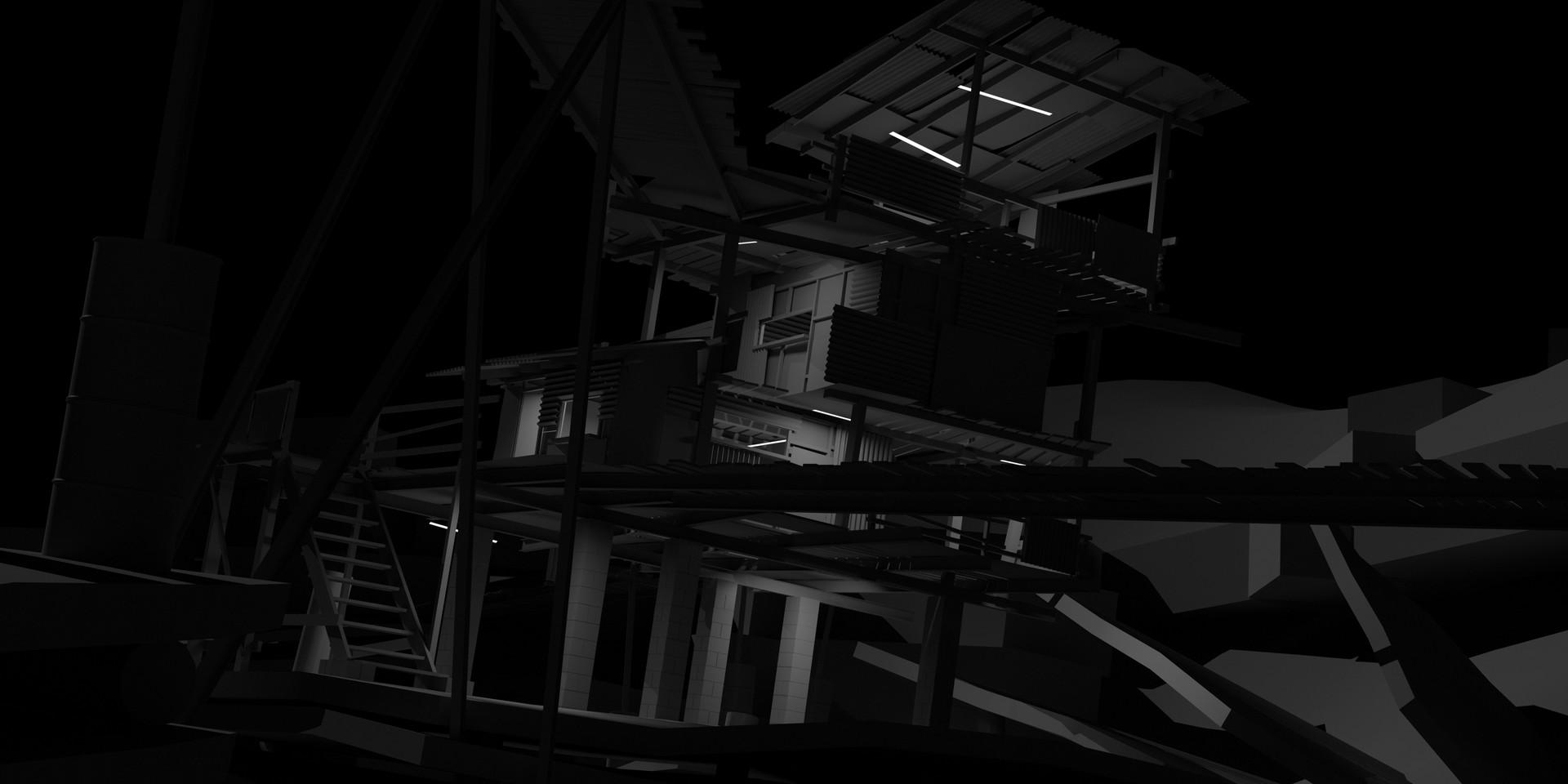 Daniel pellow slum shack lighting2