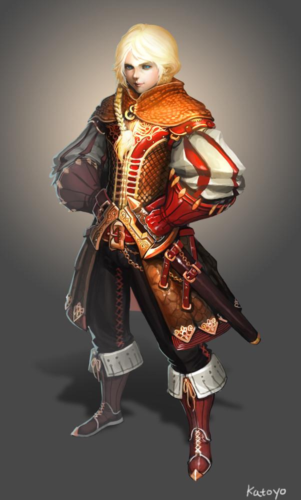 Sanghyun yu swordsman