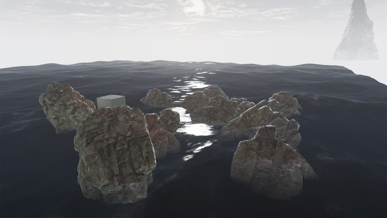 Simple and fast-working ocean shader for UDK (2014)