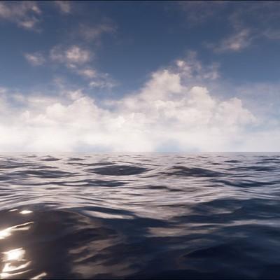 Ocean Shaders (UE4)