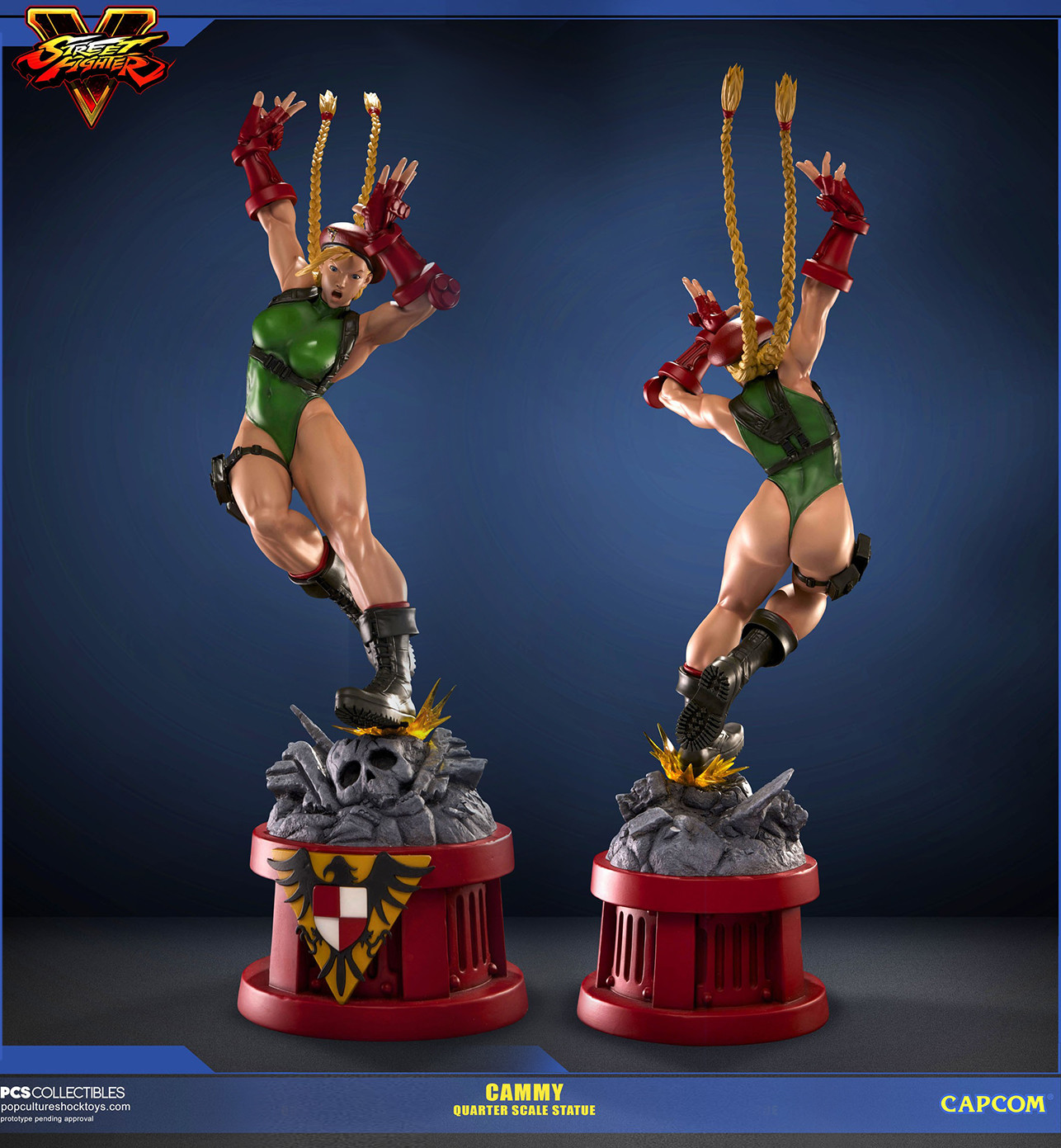 ArtStation - Cammy SFV 1/4 Scale Statue for PCS Collecibles