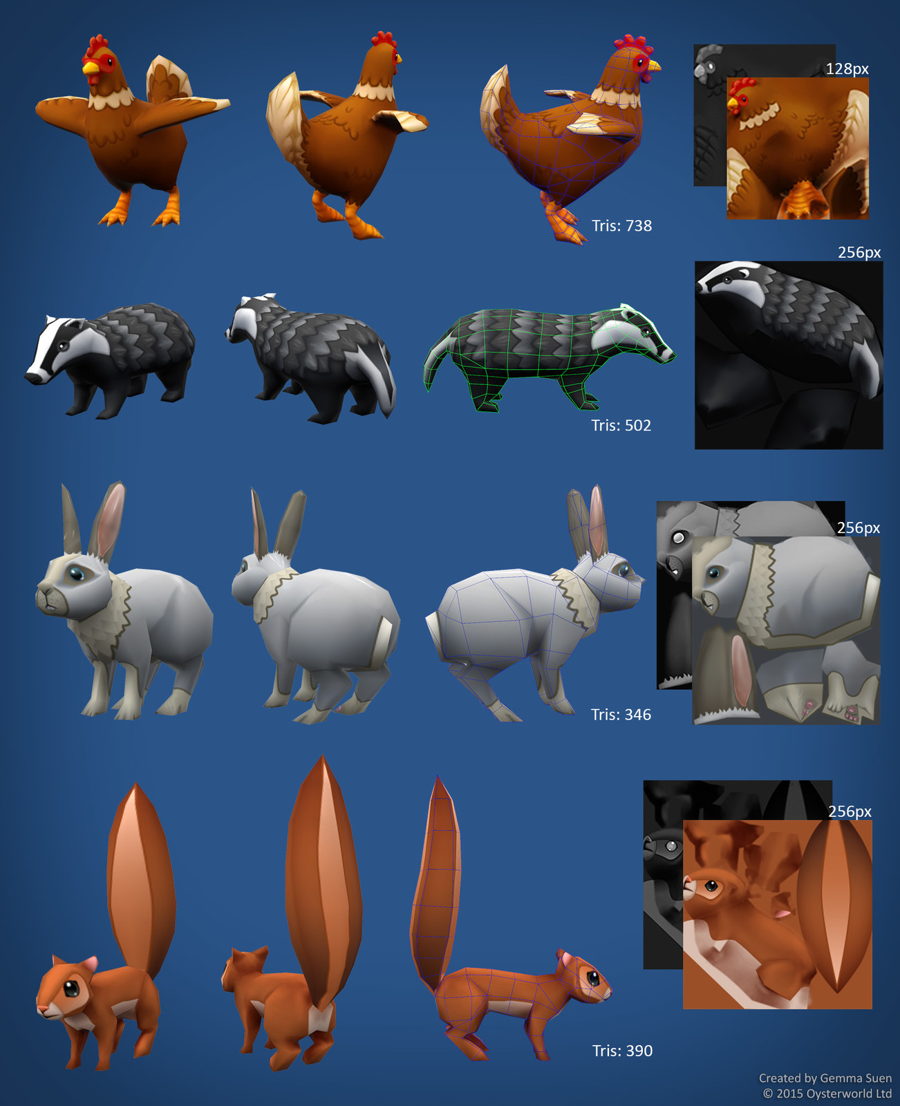 Animals - Lowpoly