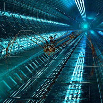 Antoni depowski spider tunel 4
