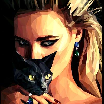 Svetlana denysenko czarna kotka
