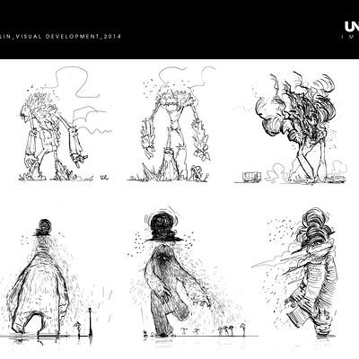 Clement dartigues sketches