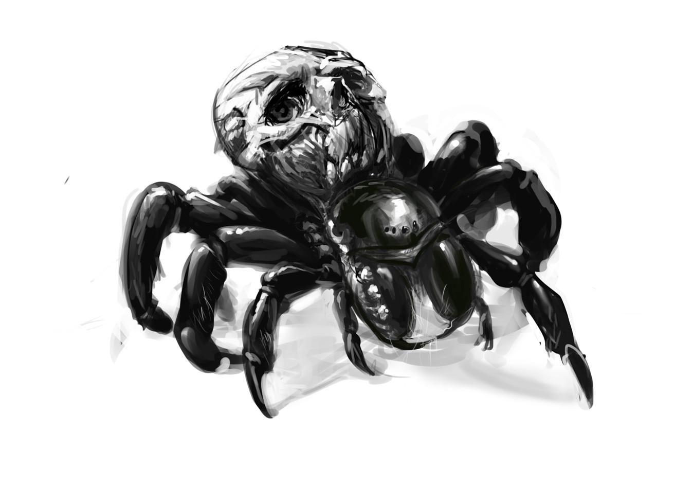 Carlo spagnola skulltula redesign sketch