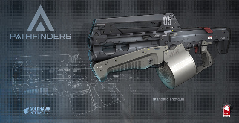 pathfinders shotgun - rmory studios