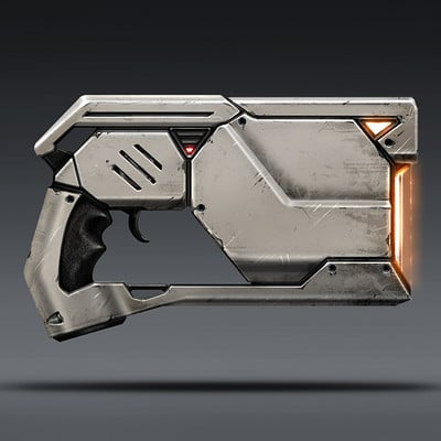Evozon game studio alien weapon concept2
