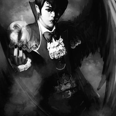 Marisa mickles marisa m vampire halloween art
