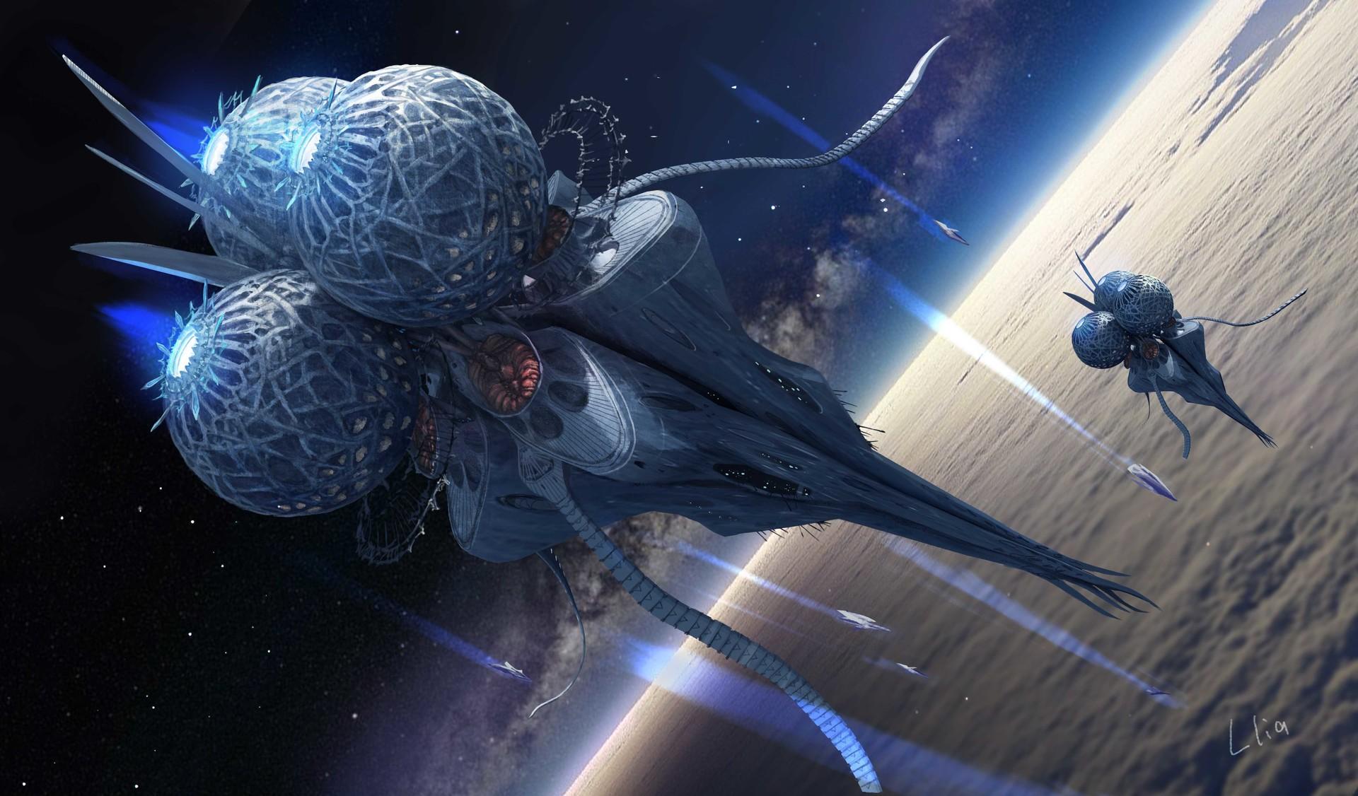 Llia yu spaceship final 2