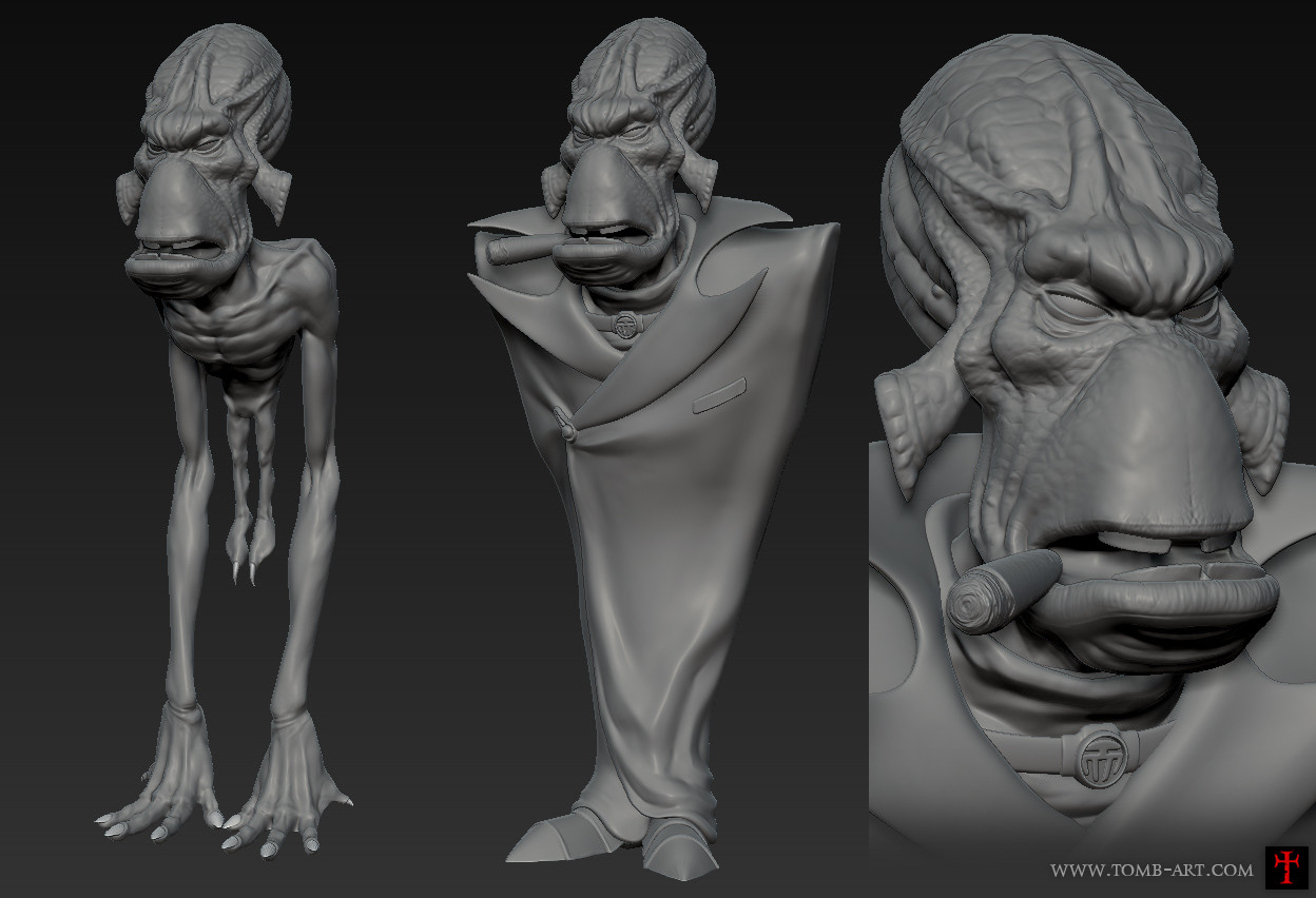 Tom bramall sculpt
