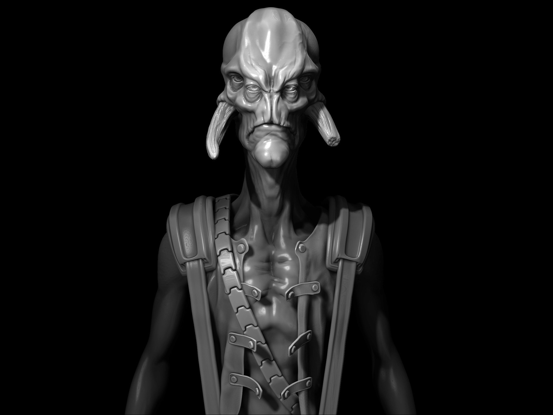 Fred howard alienpirate zbrush