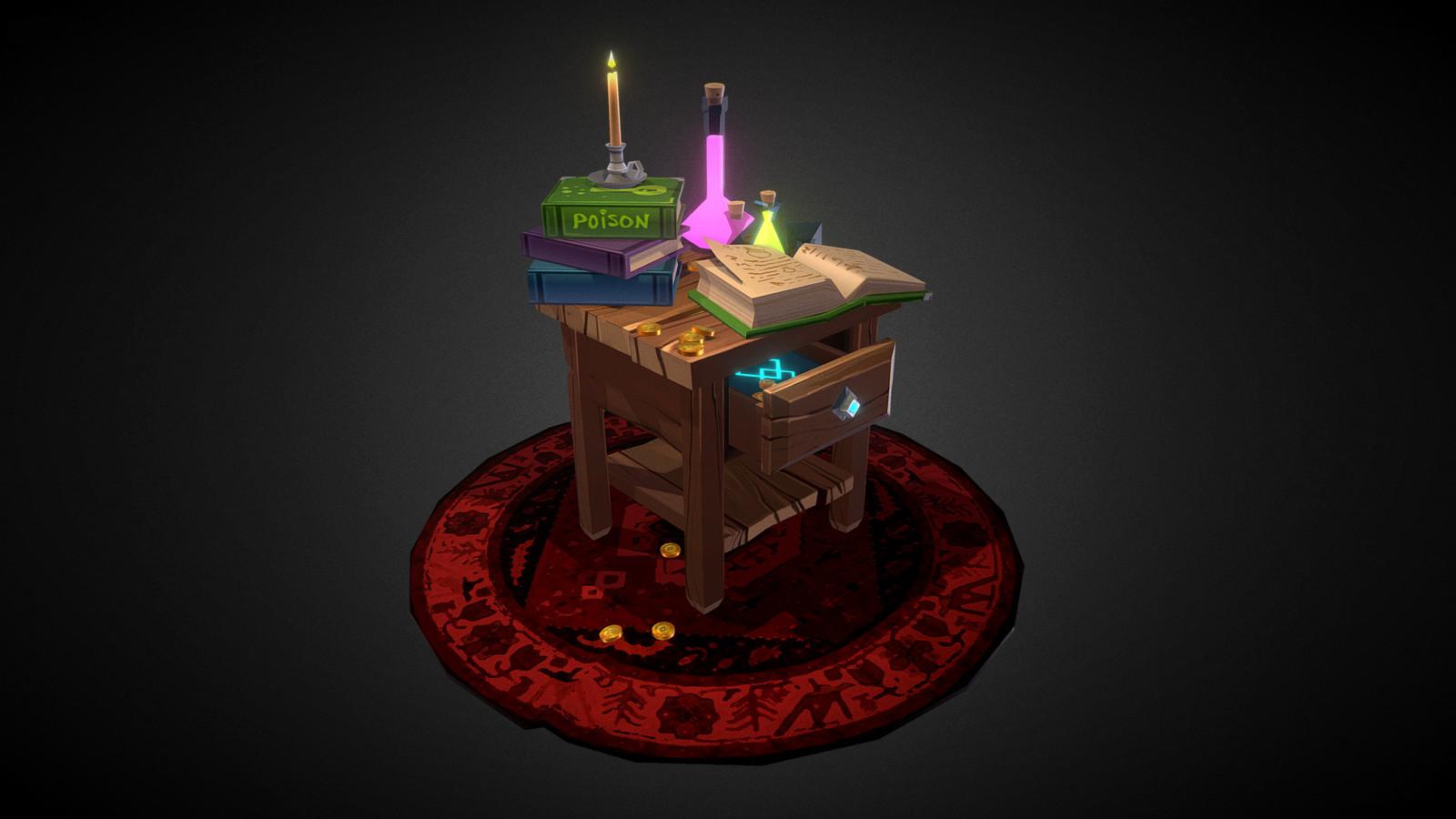 Potions Desk
